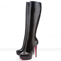 Louboutin Women's Bianca Botta 140mm Boots Black
