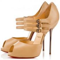 Louboutin Women's Fibbia 120mm Sandals Black