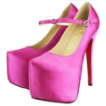 Louboutin Women's Lady Daf 160mm Mary Jane Pumps Pink