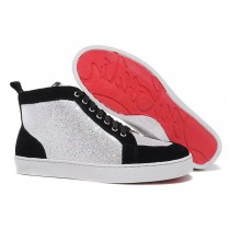 Louboutin Men's Rantulow Sneakers Black Sale
