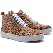 Louboutin Women's Rantus Orlato Sneakers Leopard