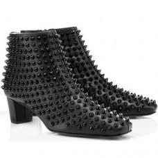 Louboutin Women's Aioli 40mm Ankle Boots Black