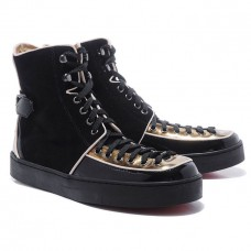 Louboutin Men's Alfie Sneakers Black Sale