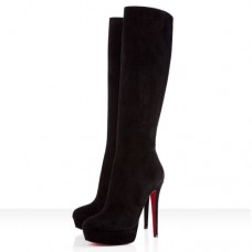 Louboutin Women's Bianca Botta 140mm Boots Black Sale