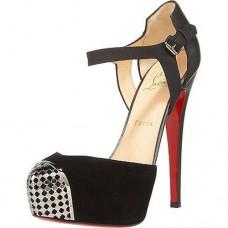 Louboutin Women's Boulima Exclusive D'orsay 120mm Sandals Black