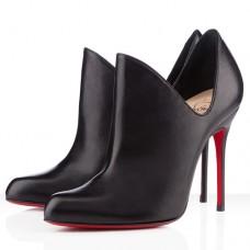 Louboutin Women's Dugueclina 100mm Ankle Boots Black Sale