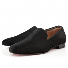 Louboutin Men's Henri Loafers Black Sale