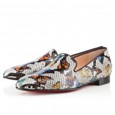 Louboutin Men's Henriette Loafers Multicolor
