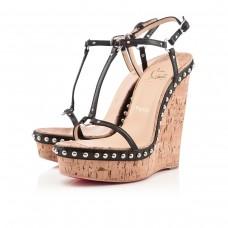 Louboutin Women's Jamie Lee 140mm Sandals Black