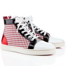 Louboutin Men's Louis Sneakers Red