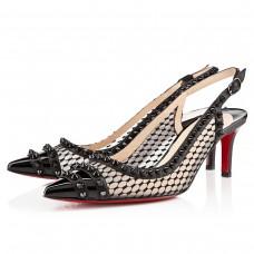 Louboutin Women's Manovra 80mm Sandals Black
