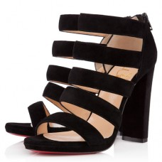 Louboutin Women's Mehari 120mm Ankle Boots Black