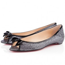 Louboutin Women's Milady Ballerinas Grey