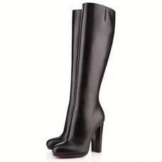Louboutin Women's Mira Belle 120mm Boots Black