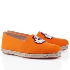 Louboutin Men's Papi Hugo Sandals Orange