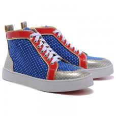 Louboutin Men's Rantulow Sneakers Multicolor