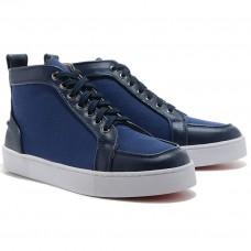 Louboutin Women's Rantus Orlato Sneakers Blue Outlet