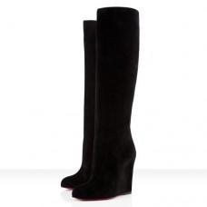 Louboutin Women's Zepita 100mm Boots Black