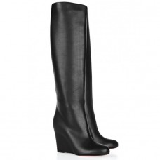 Louboutin Women's Zepita 80mm Boots Black