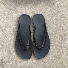 Christian Louboutin Sandals Black T-shaped rivets