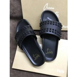 Christian Louboutin Sandals Black rivet 01 sale